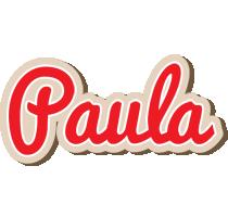 Paula chocolate logo