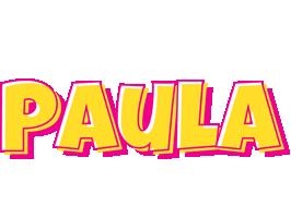 Paula kaboom logo