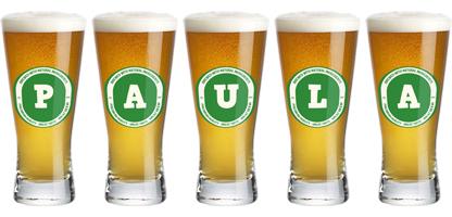 Paula lager logo