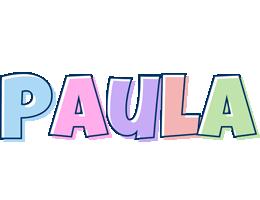 Paula pastel logo