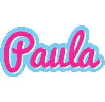 Paula popstar logo