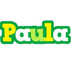 Paula soccer logo