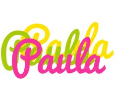 Paula sweets logo