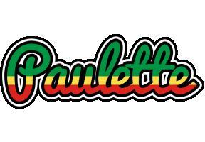 Paulette african logo