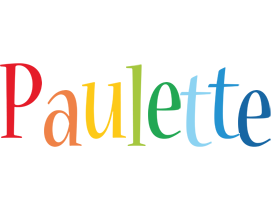 Paulette birthday logo