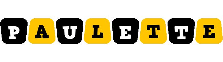 Paulette boots logo