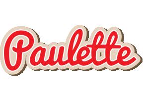 Paulette chocolate logo