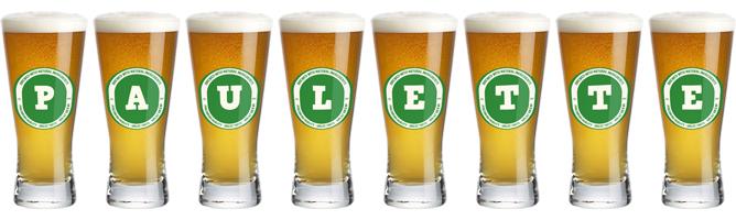 Paulette lager logo