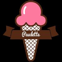 Paulette premium logo
