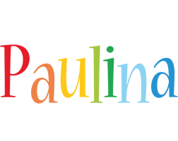 Paulina birthday logo