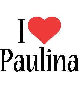 Paulina i-love logo