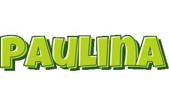 Paulina summer logo