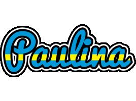 Paulina sweden logo