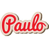 Paulo chocolate logo