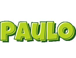 Paulo summer logo