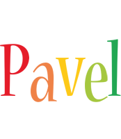 Pavel birthday logo