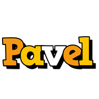 Pavel cartoon logo