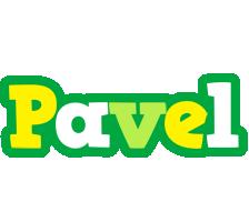 Pavel soccer logo