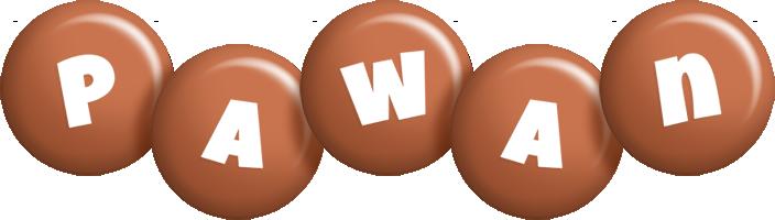 Pawan candy-brown logo