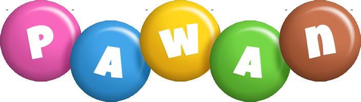 Pawan candy logo