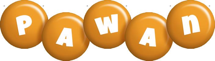 Pawan candy-orange logo