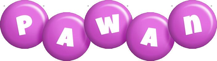Pawan candy-purple logo