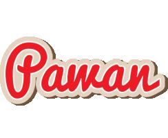 Pawan chocolate logo