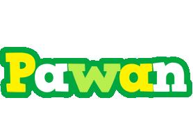 Pawan soccer logo