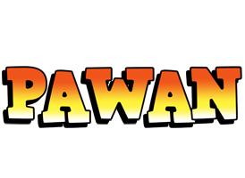 Pawan sunset logo