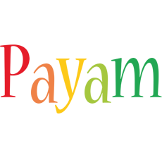 Payam birthday logo