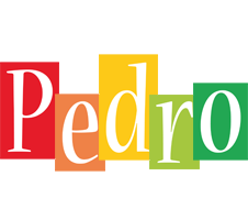 Pedro colors logo
