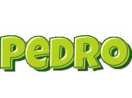 Pedro summer logo