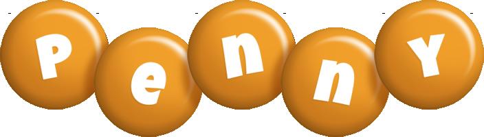 Penny candy-orange logo