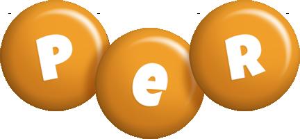 Per candy-orange logo