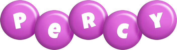 Percy candy-purple logo