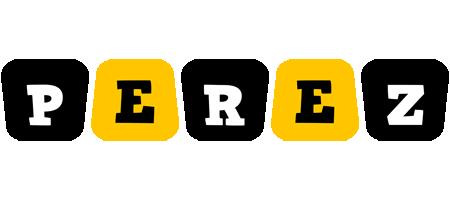 Perez boots logo