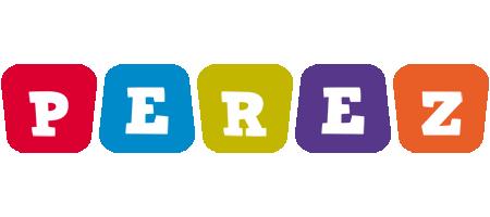 Perez daycare logo