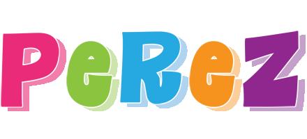 Perez friday logo