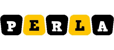 Perla boots logo