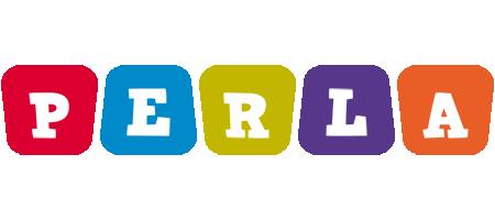 Perla daycare logo