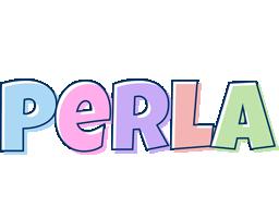 Perla pastel logo
