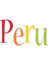 Peru birthday logo