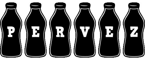 Pervez bottle logo