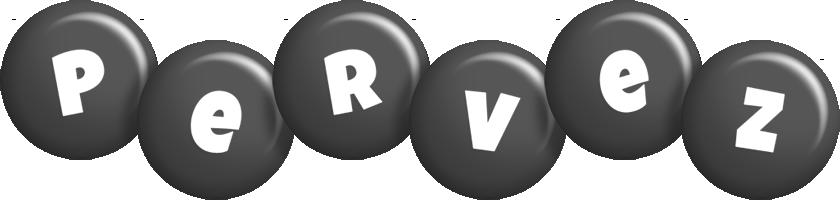 Pervez candy-black logo