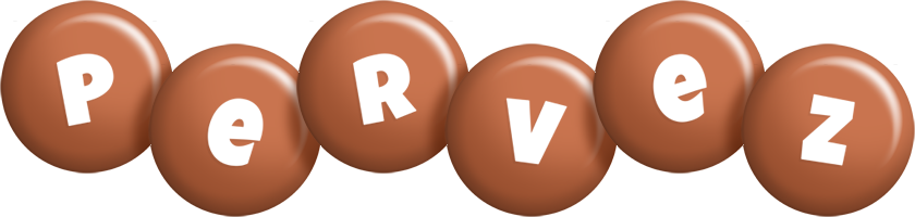 Pervez candy-brown logo