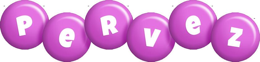 Pervez candy-purple logo