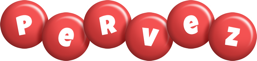 Pervez candy-red logo