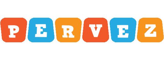 Pervez comics logo