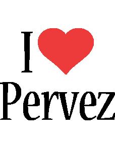 Pervez i-love logo