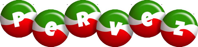 Pervez italy logo